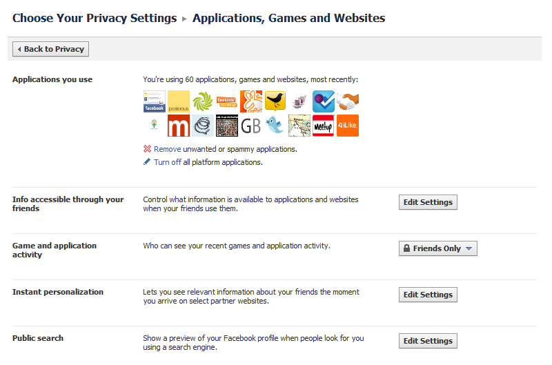 Facebook Privacy Fail How To Change Your Games